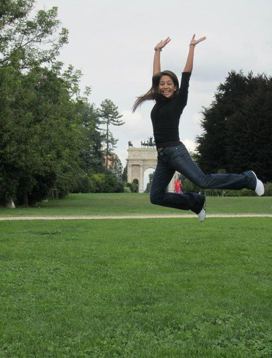 Bailarina de danza.