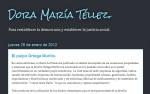 Portada del blog de Dora María Téllez