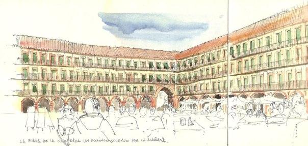 Plaza de La Corredera, en Córdoba, España. By Rafael Obrero. (Click en la foto para ir a su sitio).
