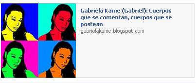 """""""Cuerpos que se comentan, cuerpos que se postean"""", by Gabriel Montiel, antropóloga nicaragüense. Den click y les lleva a su blog y al ensayo."""