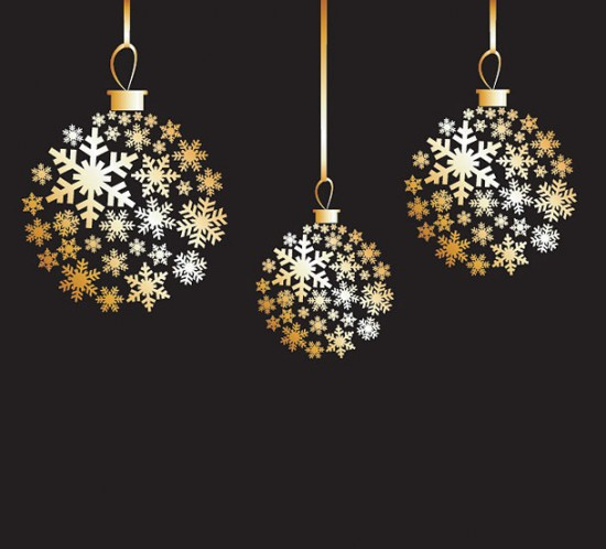 12.-Golden-Christmas-Balls-550x498