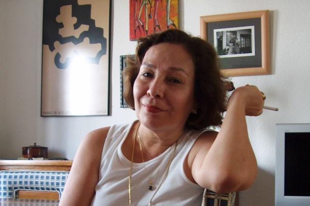 Sofía Montenegro Alarcón, periodista, escritora, feminista, nicaragüense. (Photo by MLargaespadaM, en Córdoba, 2006)