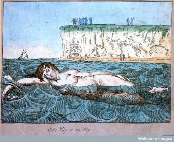 Credit: Wellcome Library, London. Venus's Bathing. 1790 By: Thomas Rowlandson