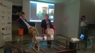 Sergio Ramírez Mercado y Horacio Casteellanos Moya presentaron la novela.
