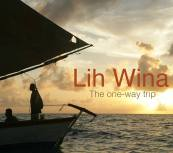 El póster de la película Lih Wina, the one-way trip.