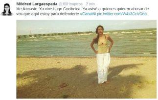 Hoy me fui a bañar al Lago Cocibolca, en Granada. Me he bañado en ese lago incontables veces, desde chiquita. Es mi lago. Y ahora que quieren destruirlo, fui a agradecerle por las tantas veces que me refrescó y le prometí que le defendería. 15 de Marzo 2014.
