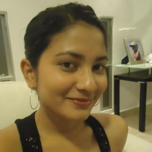 Leyla Jarquín, periodista nicaragüense. Foto tomada de su perfil público de Google Plus.
