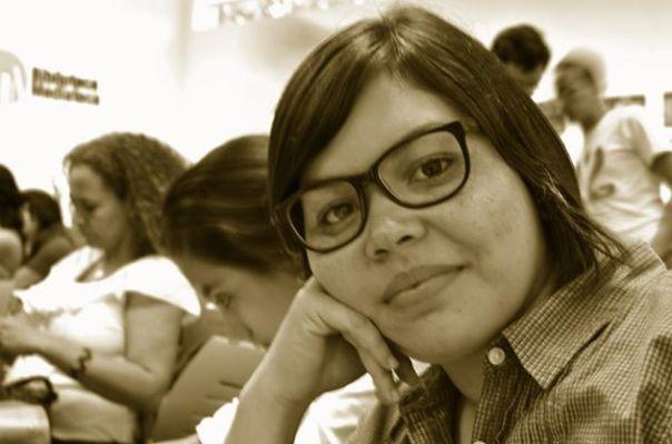 María Martha Escobar. Bloguera, feminista, activista. Exponente de las voces más frescas en el feminismo nicaragüense. Photo by La Bruja Rodríguez.