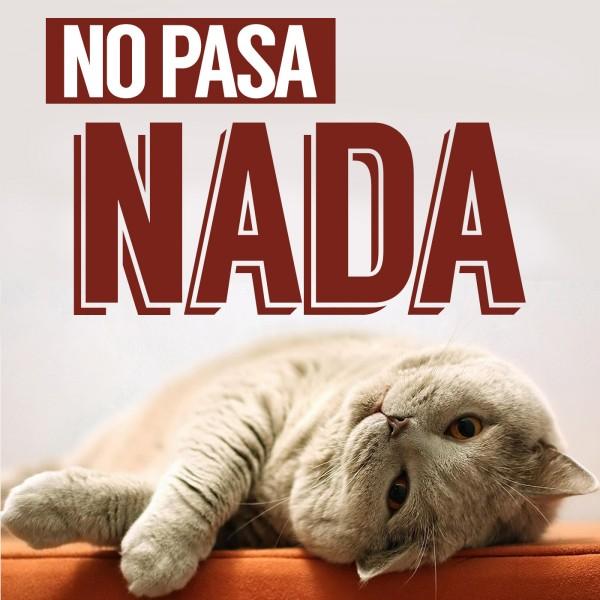 Logo del podcast No Pasa Nada.