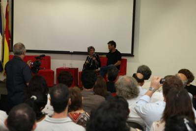 Presentación de El Tao. Claribel Alegría y Erik Flakoll (2)