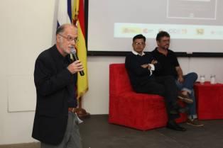Presentación de El Tao. El Embajador de España, Rafael Garranzo, Claribel Alegría y Erik Flakoll