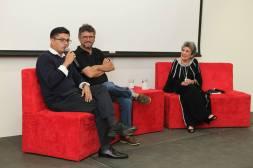 Presentación de El Tao. Fidel Moreira, Claribel Alegría y Erik Flakoll